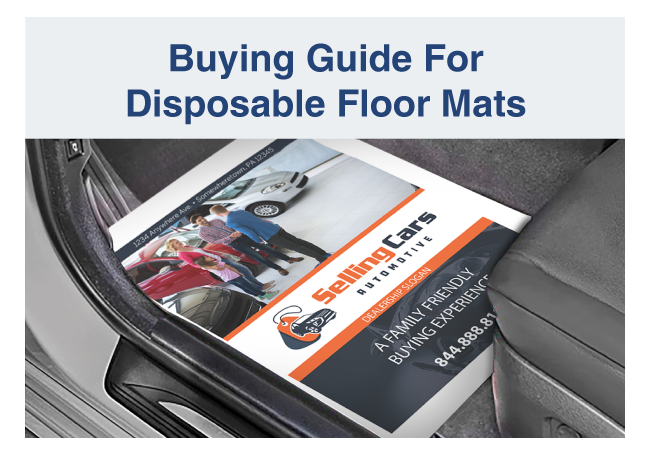 Buying Guide for Disposable Floor Mats