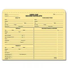 Used Car Forms