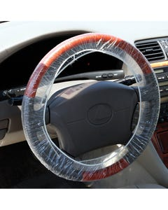 Standard Double Elastic Steering Wheel Cover