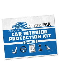 CAATS 5-in-1 Disposable Car Interior Protection Kit - 50 Pack