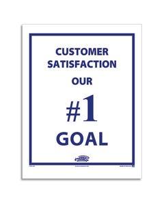 Poly Back Floor Mat - Customer Satisfaction