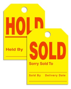 Mirror Sold/Hold Tags