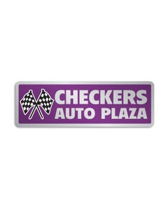 Auto Dealer Decal - Custom Rectangle Shape