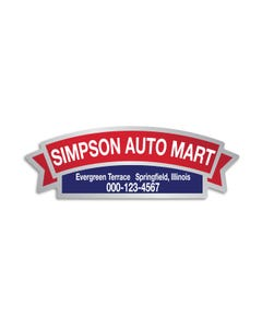 Custom Auto Dealer Decals