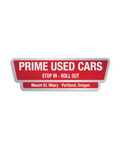 Auto Dealer Decals