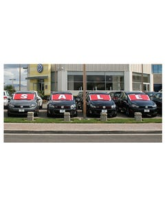 Sale Windshield Banner Kit