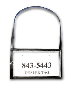TAG BAG Dealer Plate Holder