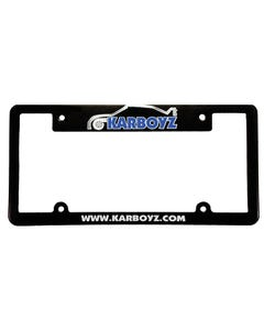 License Plate Frame - Screen Printed