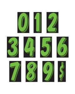 "11 1/2"" Number Window Stickers"