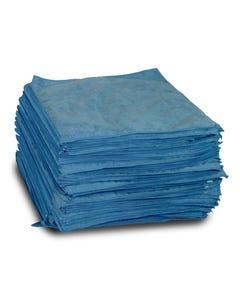 Plush Blue Microfiber Detailing Towel