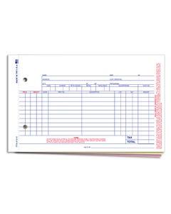 3-Part Parts Invoice