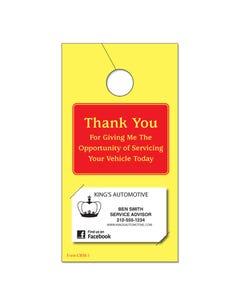 Hang Tag - Thank You