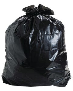 12-16 Gallon Black Trash Bags