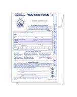 Custom Imprinted Multi-Choice Night Drop Envelopes