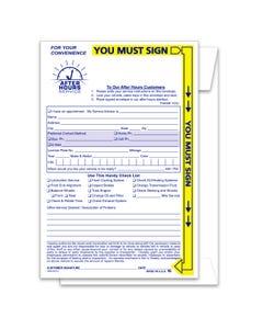 Yellow Highlight Night Drop Envelopes - 500 Box