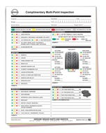 Nissan Multi-Point Inspection Forms