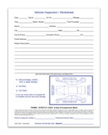 Vehicle Inspection Sheet