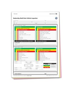 Volkswagen Multi-Point Inspection Forms