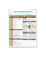 Visual Vehicle Inspection Report