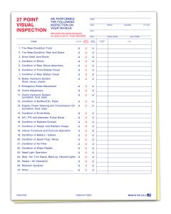 27-Point Inspection