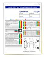 Honda Multi-Point Inspection
