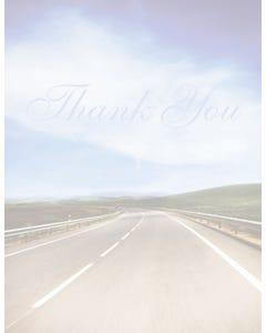 Laser Cut Sheet - Thank You