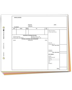 Vehicle Invoice - VI-131N