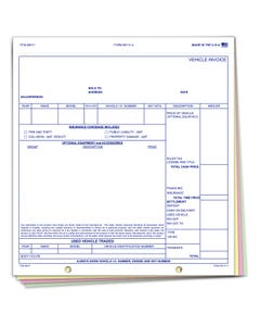 Snap Out Vehicle Invoice 6131-4