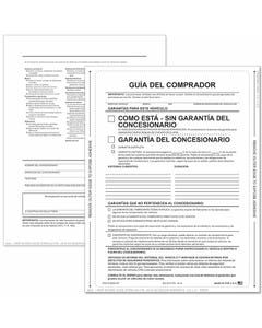 Spanish 1-Part Peel-n-Seal Buyers Guides - AS-IS