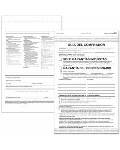 Spanish 2-Part Buyers Guide - Implied Warranty