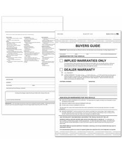2-Part Buyers Guide - Implied Warranty
