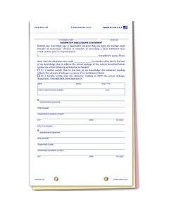 Plain Odometer Disclosure ODOM-103N
