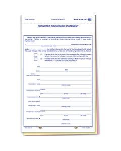 Plain Odometer Disclosure ODOM-65-3