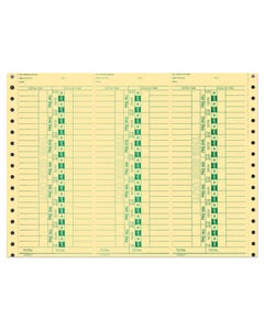 Time Clock Cards AA-292-VI