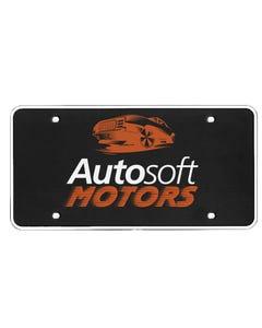 Custom Plastic License Plates for Automotive Car Dealerships