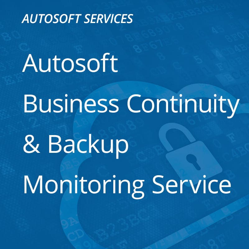 Business Continuity & Backup Monitoring Service