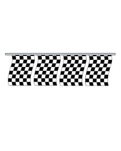 Cloth Checkered Rectangle Pennants