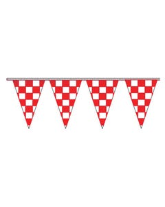 Poly Checkered Triangle Pennants