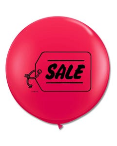 3ft Red Sale Latex Balloon