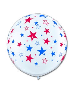 3ft Patriotic Latex Balloon