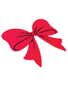 Holiday Bow Decal