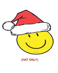 Holiday Santa Hat Decal
