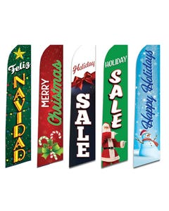 Holiday Swooper Flags