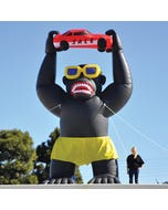 Car Dealership Inflatable Gorilla