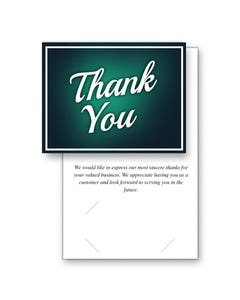 Generic Thank You Greeting Cards