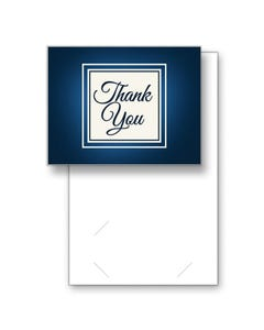 Blank Thank You Greeting Cards