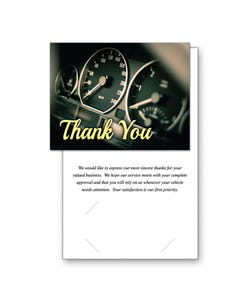 Thank You Service Greeting Cards