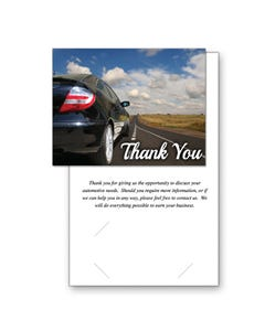 Thank You Prospect Greeting Cards
