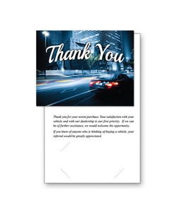 Thank You Referral Greeting Cards
