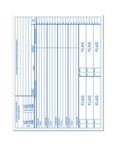 Autosoft Hard Copy Service Order Standard Back Only